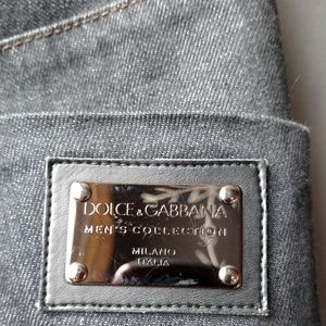Dolce & Gabbana Jeans - Dolce & Gabbana Men's Denim and Goat Suede Pants